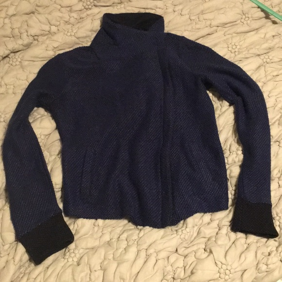 Halogen Jackets & Blazers - Beautiful blue/black Halogen jacket